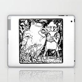 When Leprechauns Go Bad A Surly Drunken Clurichaun Laptop & iPad Skin