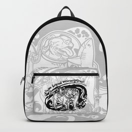 (v1) Swim Beyond Misconceptions Backpack
