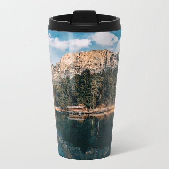wanderlust landscape Metal Travel Mug