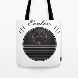 Evolve Geometrically  Tote Bag