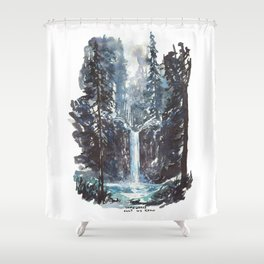 Somewhere Only We Know Shower Curtain
