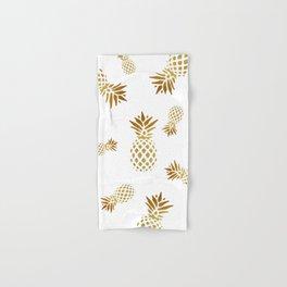 Golden Pineapple Hand & Bath Towel