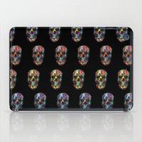skulls iPad Cases featuring skulls by Nastya Bo