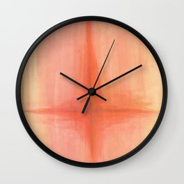 DRENCH.flame.crucifix Wall Clock