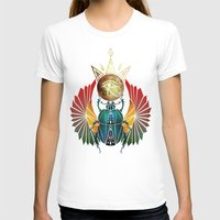 egyptian T-shirts featuring egyptian beetle by Manoou