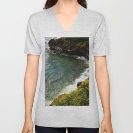 Cliff Side Unisex V-Neck