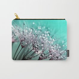 Dandelion Blue Diamonds Carry-All Pouch