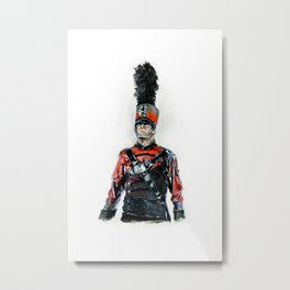 BAC  Metal Print