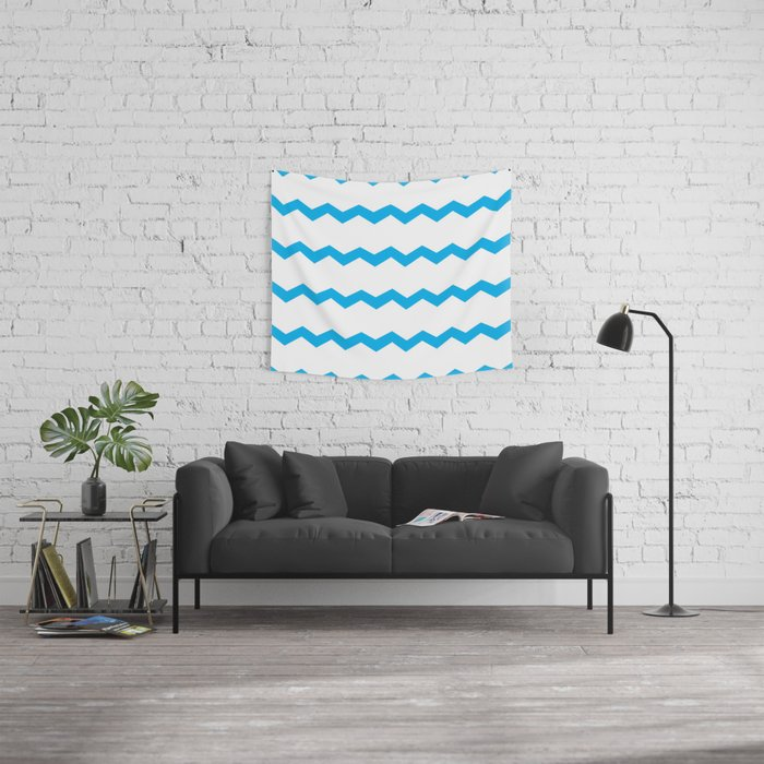 Blue Skies Wall Tapestry