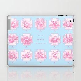 Endangered Love - Panda Sutra Laptop & iPad Skin