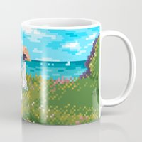 monet Mugs featuring Modern Monet No.1 by Graphics by Hand