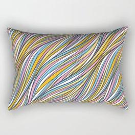 Universal neutral background Rectangular Pillow