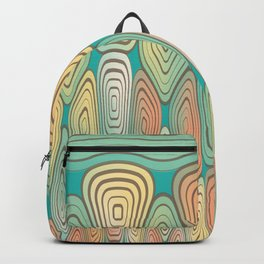 Layered squares Backpack
