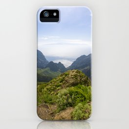 The view on Gran Canaria island iPhone Case