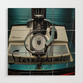 Stereophonic Wood Wall Art