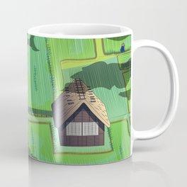 Rice paddy field Coffee Mug