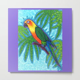 Ronnell's Parrot Metal Print