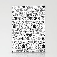 day of the dead Stationery Cards featuring Day of the dead by Farnell