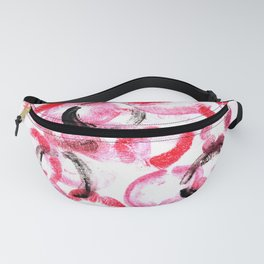 Covered in Her Kisses  Fanny Pack