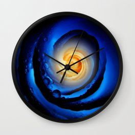 Eye of the Rose Wall Clock