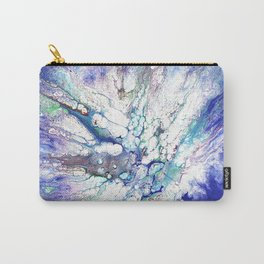 Blue violet cells Carry-All Pouch