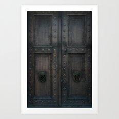 Sanctuary of Secrets Art Print