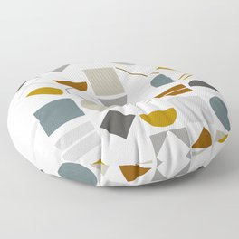 Mid West Geometric 01 Floor Pillow