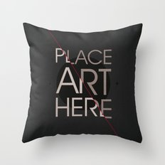 The Art Placeholder Throw Pillow