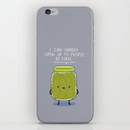 Introverted Jar iPhone Skin