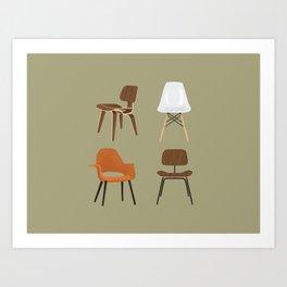 Eames Design Art Print