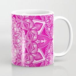 Pink Madala Pattern Coffee Mug