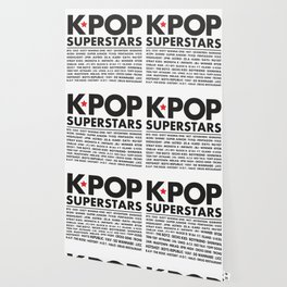 KPOP Superstars Original Boy Groups Merchandse Wallpaper