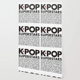KPOP Superstars Original Boy Groups Merchandse Wallpaper