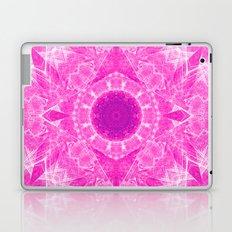 Vibrant pink kaleidoscope Laptop & iPad Skin