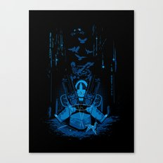 Retirement (Replicant) Canvas Print