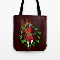 homestuck Tote Bags featuring Maid of Time  by Paula Urruti