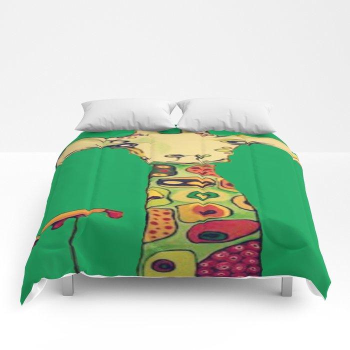 Kallie's Giraffe Comforters