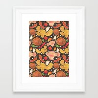 indonesia Framed Art Prints featuring Indonesia Spices by haidishabrina