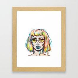 MILLENNIAL Framed Art Print