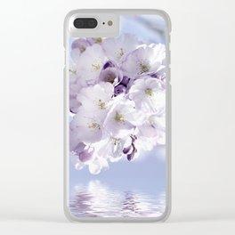 Spring 297 sakura Clear iPhone Case