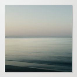 Tranquility by the sea Canvas Print