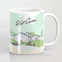 Suburban West Covina Coffee Mug