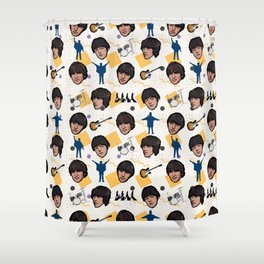 TheBeatles Pattern Art Shower Curtain