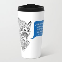 A Beast's Beseechment Travel Mug