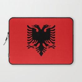 Albanian Flag - Hight Quality image Laptop Sleeve
