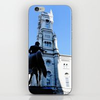 onward iPhone & iPod Skins featuring Onward (Philadelphia) by Julie Maxwell