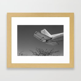 Tail Plane Framed Art Print