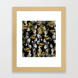Bumble Bee Willow Framed Art Print