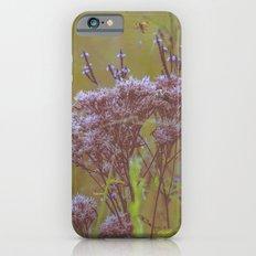 Summer Botanical Meadow Marsh with Joe Pye Weed and Blue Vervain Wildflowers Slim Case iPhone 6s
