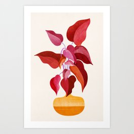 All Grown Up / Tropical Plant Illustration Art Print